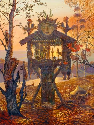 Алтарь леса (forest altar)