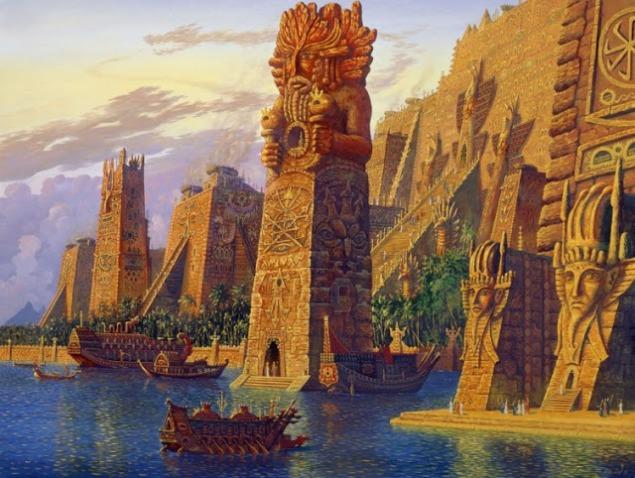 В гавани Золотого века (In the harbor of the golden age)