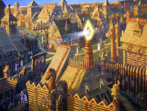 В городе князя Ящера (the city of prince Lizard)