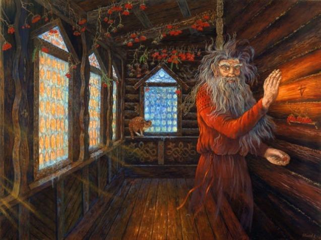 Домовой (Domovoi - house spirit)