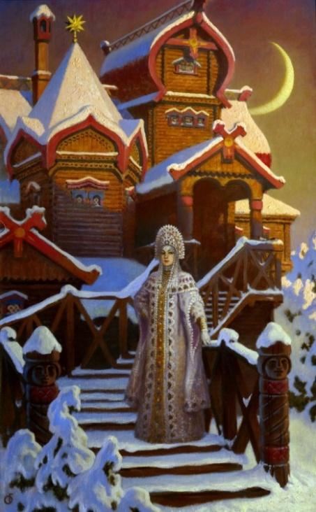 Терем царевны зимы (Princess tower winter)