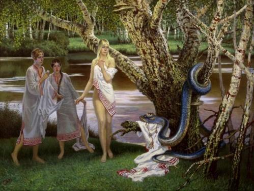 Языческий мотив (Pagan motif)