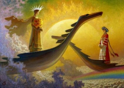 У небесного причала (Heavenly berth)