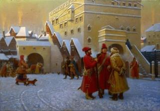 Посольский двор XVII века (Ambassadorial yard XVII century)