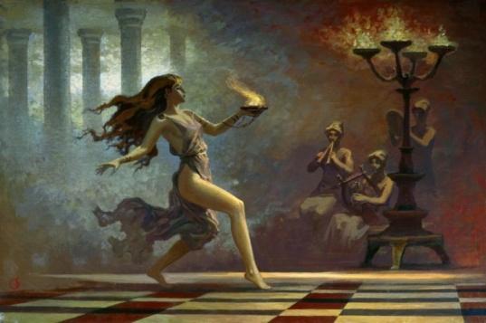 Танец с огнем (Dancing with fire)