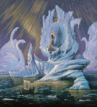 """""""Таинственный студеный океан"""" (Mysterious icy ocean)"""