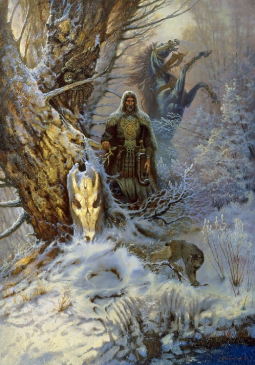Охота князя Словена (Hunting Prince of Words))