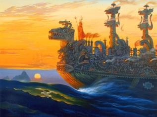 Курс к острову Посейдона (The course for the island of Poseidon)