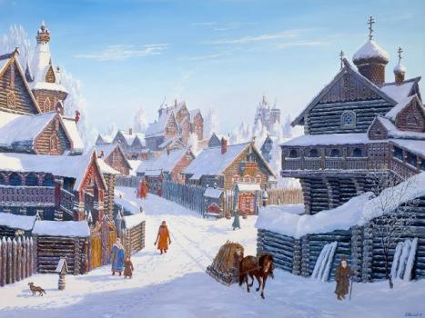 Погожий зимний день (Lovely winter day)