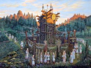 Святилище Числобога (sanctuary Chisloboga)