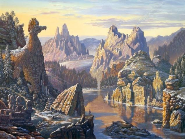 Священное озеро Сиверских гор (sacred lake Siverskoye mountains)