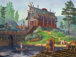 Храм Бога Свентовида (Temple of god Sventovida)