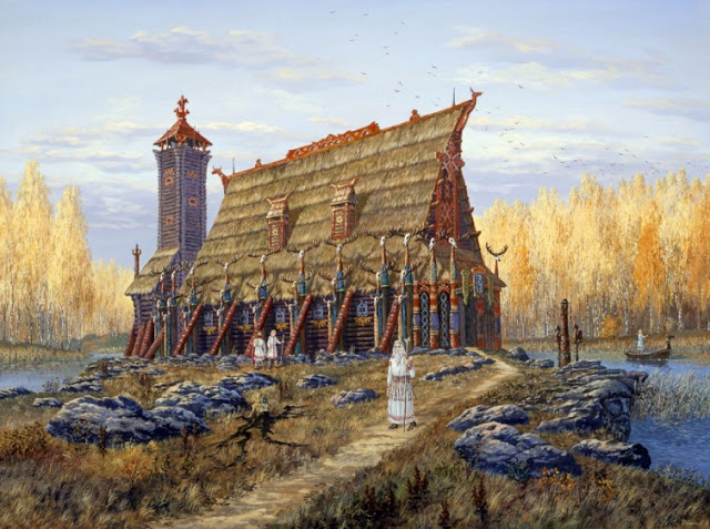 Храм Бога Хорса (Temple of god Horsa)