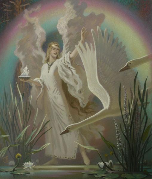 Богиня - царевна (Goddess - Princess)
